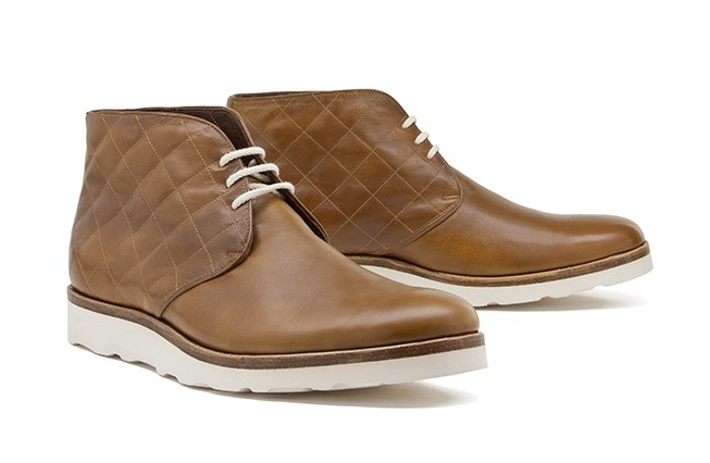 Chukka Boot No. 1 / quilted