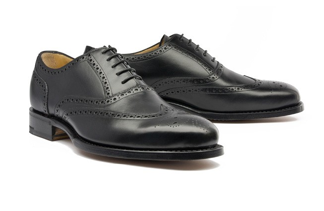 Oxford Full Brogue No. 1 / schwarz