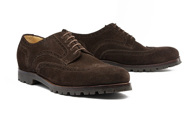 Derby Full Brogue No. 1 / dunkelbraun