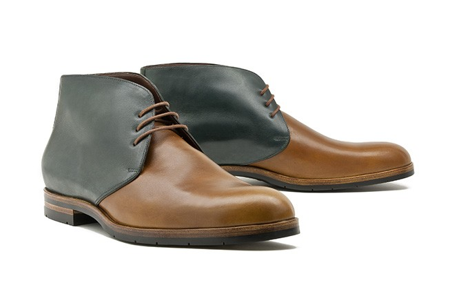 Chukka Boot No. 1 / bicolor