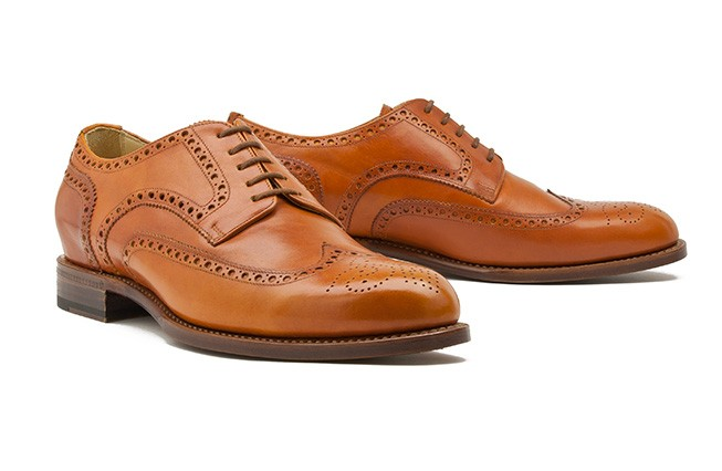 Derby Full Brogue No. 1 / kupfer
