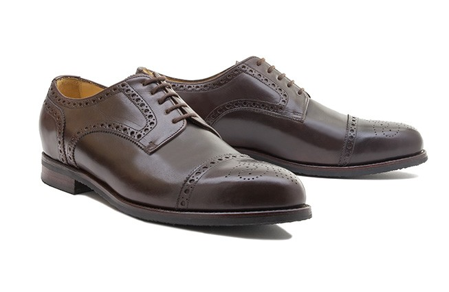 Derby Brogue No. 1 / dunkelbraun